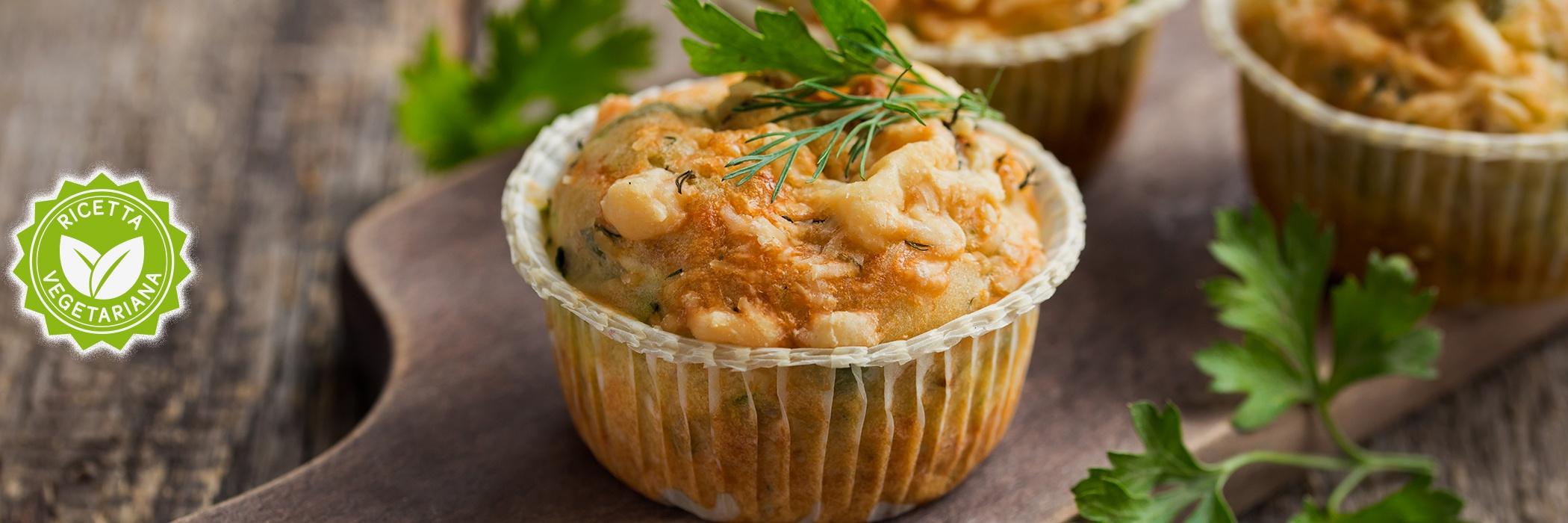 muffin albume con spinaci